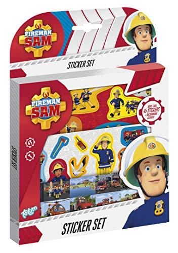 Totum Fireman Sam Stickerset: Ontwerp je eigen heldenwereld met de verschillende motieven van Feuermann Sam