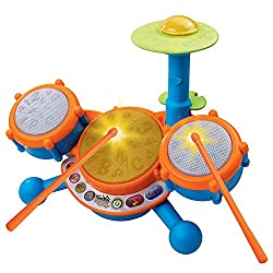 VTech KidiBeats Drum Set (Frustration Free Packaging)-gifts for 2 year old boys