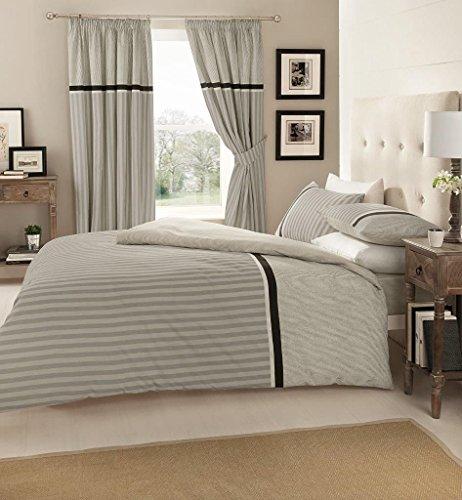 Goldstar Valeria Grey Double Size Duvet Cover Bedding Set