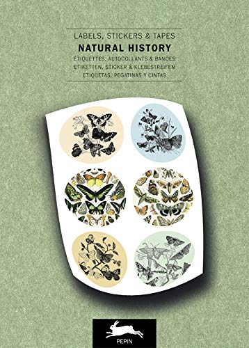 Natural History: Label and Sticker Book: labels, stickers & tapes (Label & Sticker Book)