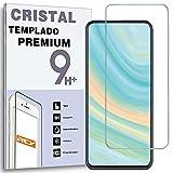 REY Protector de Pantalla para ZTE AXON 20 5G, Cristal Vidrio Templado Premium