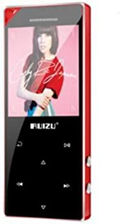 TZOU RUIZU D05 1.8 Inch Bluetooth MP4 Music Player Touch Screen Portable Digital MP3 Music Player with Speaker red 16 GB