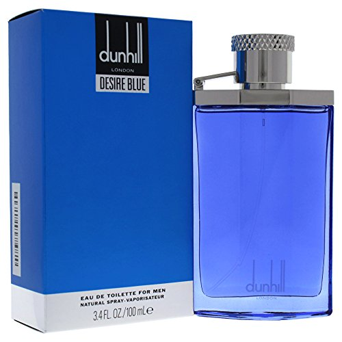 Dunhill Desire Blue For A Man 100 ml Eau de Toilette Spray für Ihn, 1er Pack (1 x 100 ml)