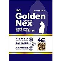 GoldenNexキャットドライフード お魚味ミックス 4kg