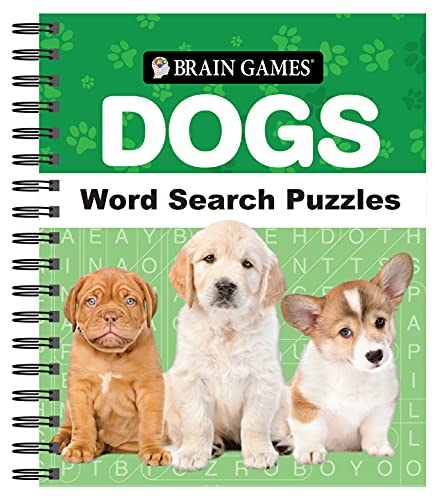 Brain Games - Dogs Word Search Puzzles