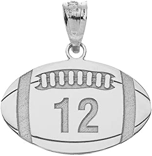 Best football charms sterling silver Reviews