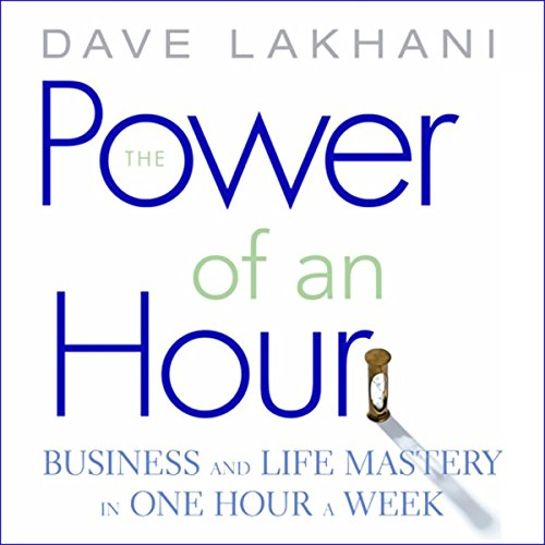 The Power of an Hour audiobook cover art