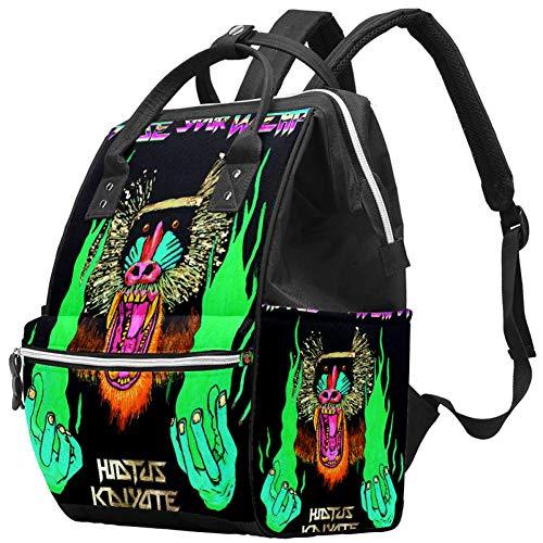 Choose Your Weapon Travel Rucksack Casual Daypack Maternity Nappy Bag Organizer Nursing Bottle Bag