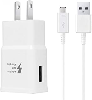 Adaptive Fast Charger Kit Compatible Samsung Galaxy S6/ S7/ Edge/Plus/Active/Note 5 /..