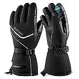 OlarHike Men's Ski Gloves, Winter Snow Gloves For Women, Touchscreen,...