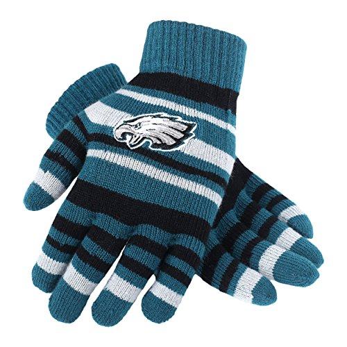 NFL Philadelphia Eagles Team Logo Stretch Gloves, Team Color, One Size