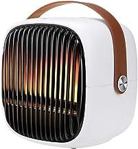 TYX-SS Calentador De Espacio Portátil, Calefactor De Aire Caliente Cerámico, Mini Calefactor Baño Asa De Transporte, para Oficina Casa,Basic Model