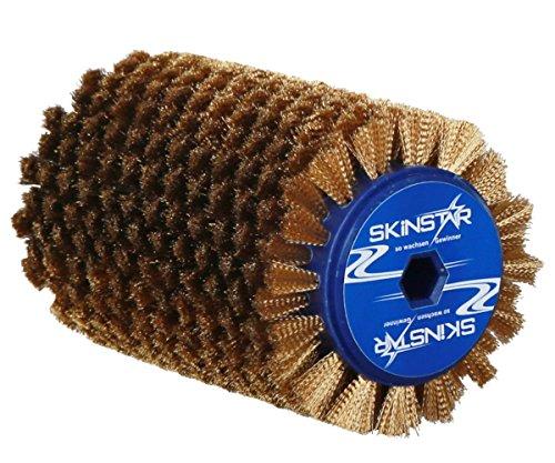 SkinStar Belagbürste Rotorbürste Skibelag-Rotationsbürste Speed Brush Kupfer Bronze