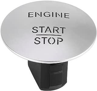 Terisass Ignition Switch Plastic Alloy Keyless Car Engine Start Stop Button for Mercedes-Benz CL550 Coupe CLS350 Sedan E350 GL350 GL450 GLK350 ML350 S550 SL500 SLK200 SLK350 2010-2014