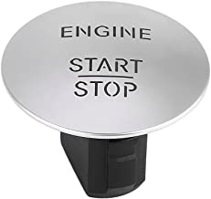Qiilu Keyless Go Start Stop Push Button Engine Ignition Switch Mercedes-Benz ML,GL,R,S,E,C Class 2215450714,CL550,ML350,GLK350,E350,S550,B180,C180,C200,C300,E200, Infiniti QX30 Q30 &More Silver
