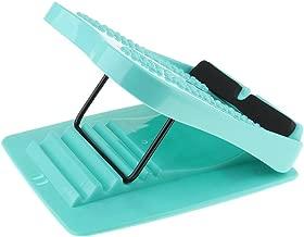 SueSupply Stretchboard Dehnbrett Wade Achillessehne Fersensporn Plantarfasziitis Schr/ägbrett mit Akupressur und Magnetmassage Ein Reduzieren Erm/üdung d/ünn Waist-Legs 4 Winkel-Blau