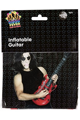 Smiffys Guitare gonflable, couleurs assorties, 99cm / 39in