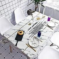 北欧の黒と白の市松模様のテーブルクロスPVC製の耐水性と耐油性のテーブルクロス。コーヒーテーブル用長方形テーブル,140*180