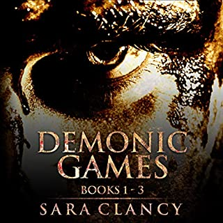 Demonic Games Series Books 1 - 3 audiobook cover art