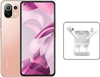 Xiaomi 11 Lite 5G NE Dual SIM Amoled Display Peach Pink 8GB RAM 128GB + Mi True Wireless Earphones 2 Basic