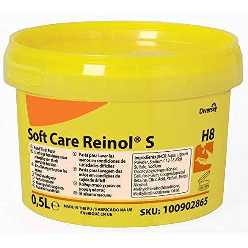Diversey 100902865 Soft Care REINOL S, pasta do mycia rąk z naturalnym środkiem ściernym, 0,5 l