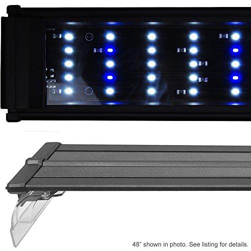 BeamsWork DA 0.50W Series LED Pent Aquarium Light Marine FOWLR Cichlid (180cm - 72