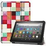 VOVIPO Funda inteligente para Kindle Fire HD 8 y Fire HD 8 Plus Tablet (décima generación, lanzamiento 2020), delgada y ligera función atril para Fire HD 8/Fire HD 8 Plus 2020