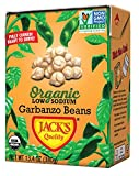 Jack's Organic Garbanzo Beans – Packed with Protein & Fiber, Heart Healthy, Low Sodium, ...
