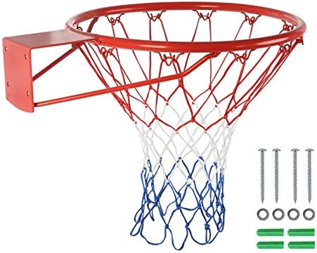 Basketball Rim Hoop with Max Purchase 76% OFF All for Kids Net Weather Ju