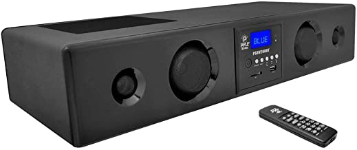 Pyle 3D Surround Bluetooth Soundbar – Sound System Bass Speakers Compatible to TV,..