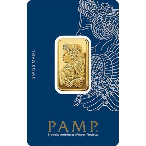 Pamp Suisse 20g Goldbarren Fortuna 999.9 Gold Blister Echtgold