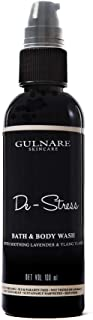 Gulnare Skincare De-Stress Body Wash With Lavender And Ylang Ylang, 100 ml