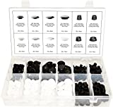 SWORDFISH 60470-349pc Flush Type Hole Plug Assortment