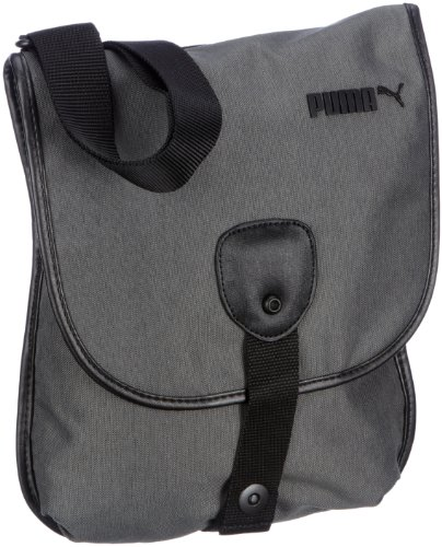 PUMA Drift Magazine Shoulder Bag 25 x 34 cm, Steel Grey (Grey) - 069188 01