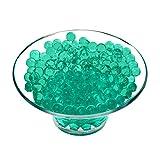 WedDecor 5g Aguamarina Agua Bolas Cristal para Centro de Mesa Decoración, Hogar Decor, Boda, Jarrón Relleno - Verde Jade, 1 Pack