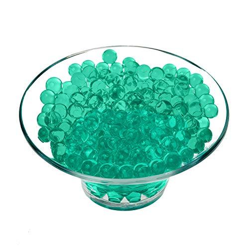 Trimming Shop Agua Bolas Silicona Orbs para Planta Jarrón Relleno, Decoración, Centros Mesa, 500pcs - Verde Jade