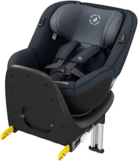 Maxi-Cosi Mica Up 360 Degree Rotative Car Seat with ISOFIX base, Group 1, Rearward and Forward Facing, From Approximately 4 months Upto 4 Years, 61-105 cm, 18 kg, Graphite: image