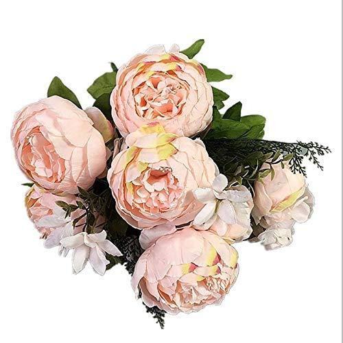 RAQ-bos bloemen voor bruiloft decoratie vazen tabel bloemen champagne