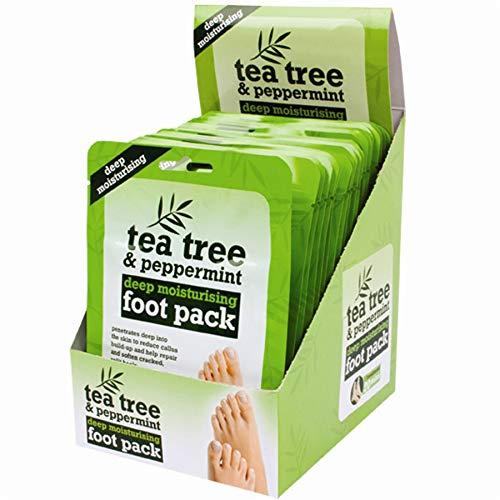 5x Tea Tree Peppermint & Shea Butter Foot Treatment Packs