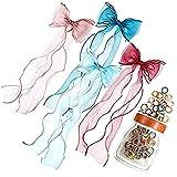 MissGao 4 diademas de encaje para el pelo para niñas, diseño de princesa