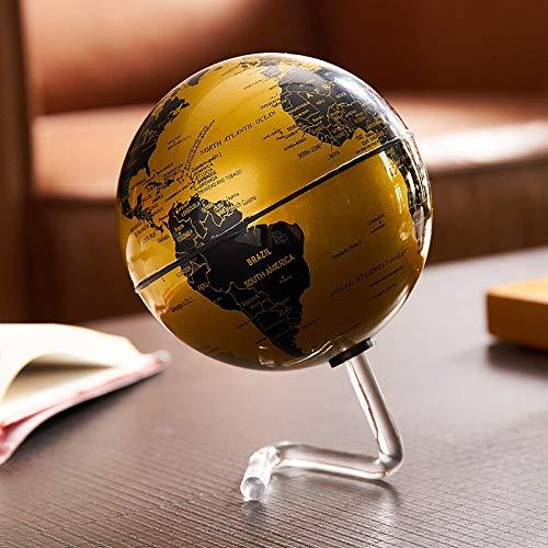 Decoración para el hogar Accesorios retro mundo mundo aprendizaje mapa mundo globo escritorio decoración accesorios globo geografía niños educación