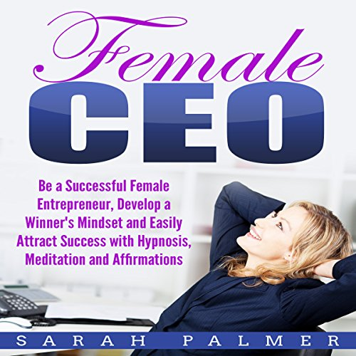 Female CEO cover art