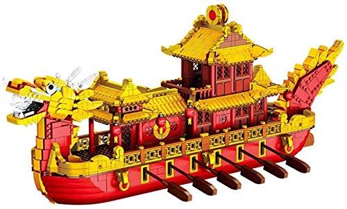 hsj -Gebäude, Gebäude Miniatur Bauklotz, 3523Pcs Mini Bricks DIY pädagogische Spielwaren-Geschenk for Erwachsene und Kinder Exquisite Verarbeitung