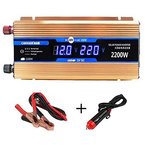 CHHMAELOVE Wechselrichter 2200W...