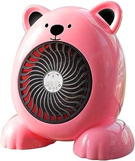 NFJ-LYR Calefactor Portátil Eléctrico,Calefactor Eléctrico,Calentador de Espacio Portátil Personal,Calentador Habitación (Color : Pink)