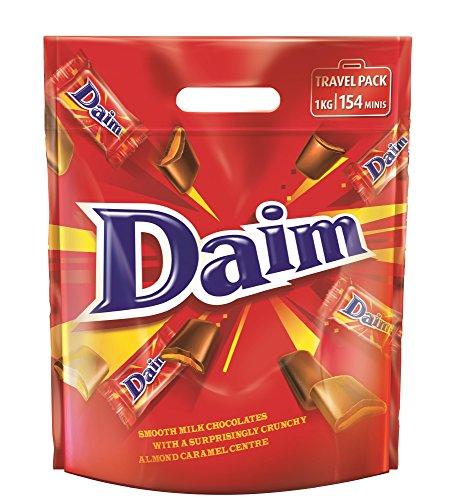 Daim Travel Pack 1kg Schoko-Karamell-Bonbons