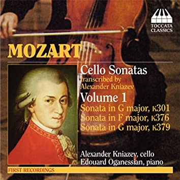 Mozart: Violin Sonatas Nos. 18, 24,  and 27 (Arr. for Cello)