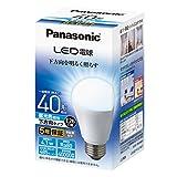 パナソニック LED電球 口金直径26mm 電球40形相当 昼光色相当(4.1W) 一般電球 下方向タイプ 1個入り 密閉器具対応 LDA4DHEW2