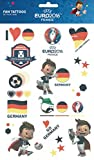 Deutschland Fan Tattoos Fussball EM WM Public Viewing Weltmeisterschaft Party World Cup Germany Herz Sterne Liebe Flagge Flag Fahne