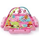 PUDDINGT Baby Play Manta Play Sheet Baby Baby Manta Música para Actividades Gimnasio Juguete,Rosado